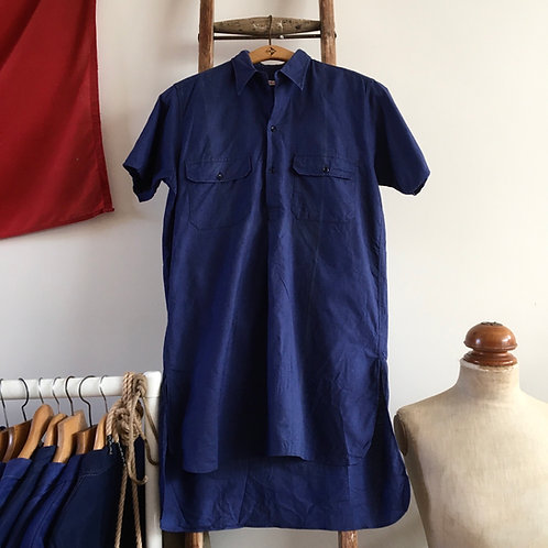 True Vintage French 1950s Deadstock Workwear Shirt S