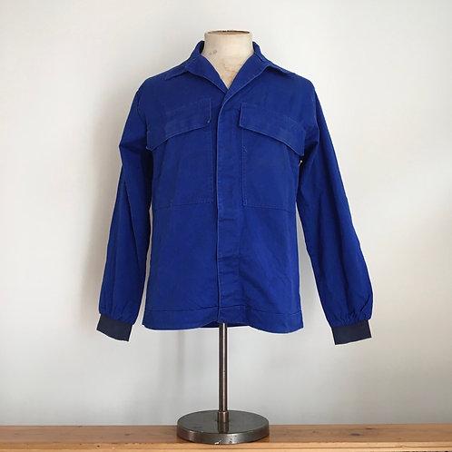 Vintage French Bleu de Travail Chore Jacket M