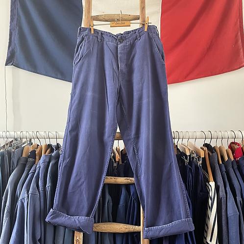 "True Vintage Timeworn Workwear Trousers W32"" 34"""