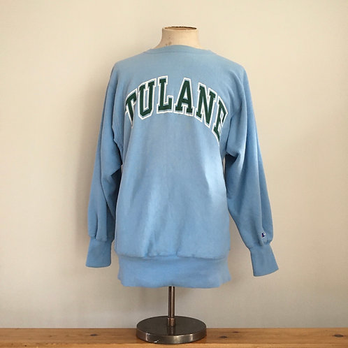 True Vintage USA Tulane Champion Reverse Weave Sweatshirt M- L