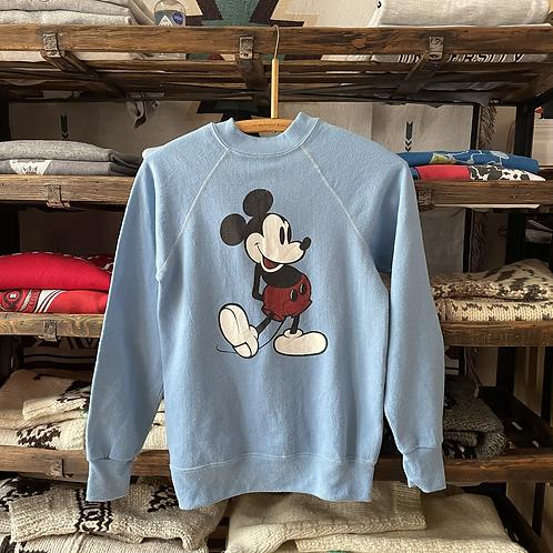 True Vintage 1980s USA Mickey Mouse Disney Sweatshirt XS/ S