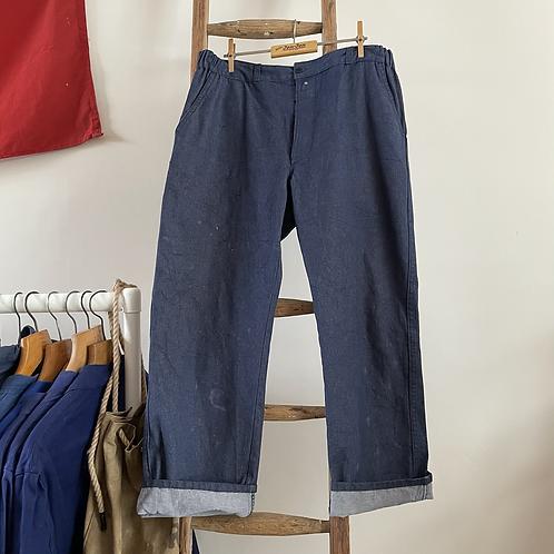 "Vintage European Denim Workwear Trousers W36"""
