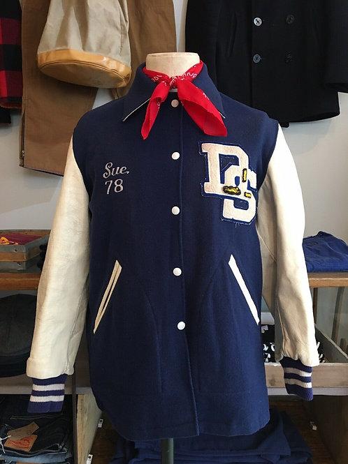 True Vintage Varsity College Jacket Kevin Rowland Memorabilia L