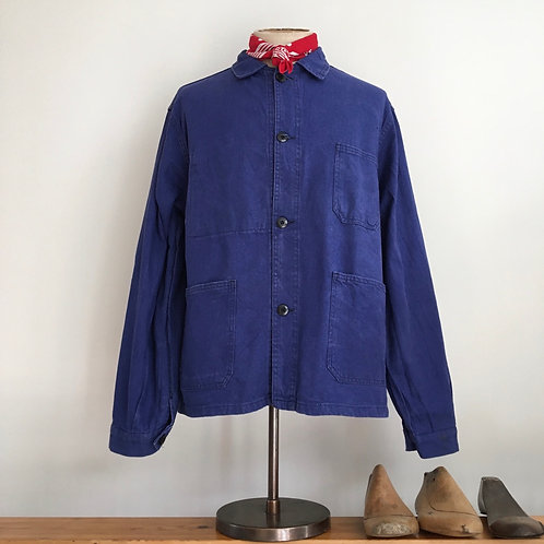 True Vintage French 1960s Le Mont Carmel Workwear Jacket L