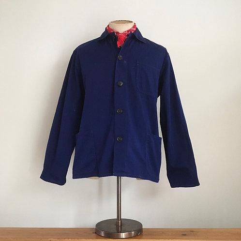 Vintage Chinese 'Friendship Brand' Cotton Workwear Chore Jacket L