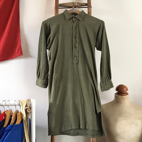 Vintage German Army Military Smock Shirt M-L