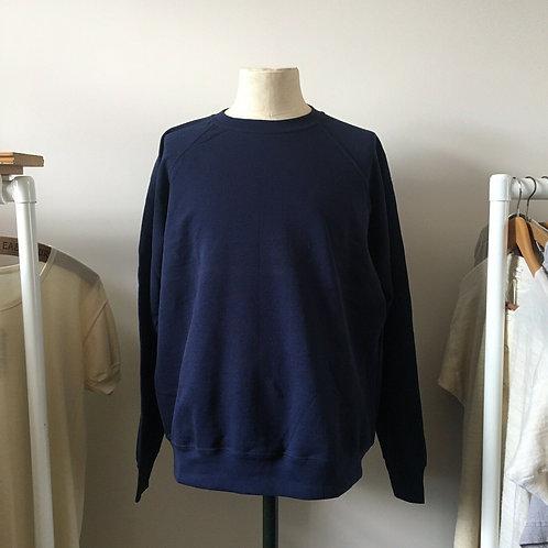 Vintage Style Deep Navy Sweatshirt XL