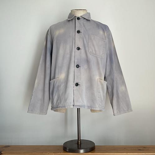 Vintage Chinese 'Friendship Brand' Sunfaded Cotton Workwear Chore Jacket M- L