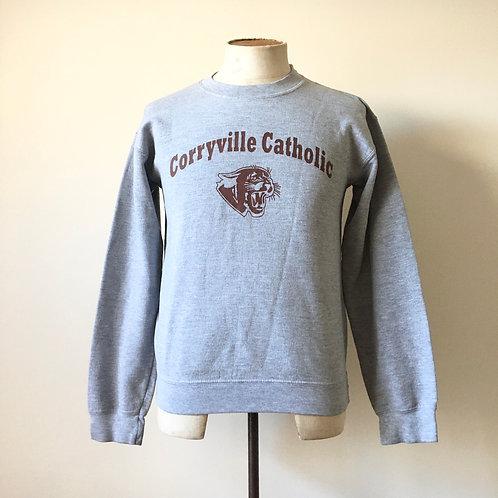 Vintage USA Corryville Grey Marl Sweatshirt S