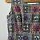 "Thumbnail: True Vintage 1950s Cotton Print Dress UK8 10 W28"""