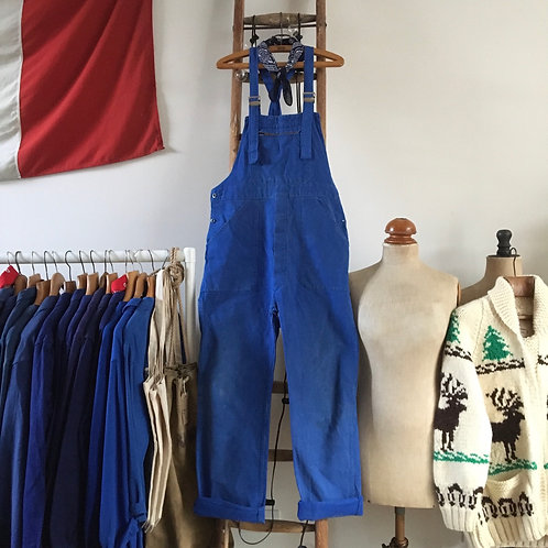 True Vintage French Workwear Dungarees M