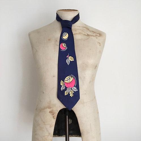 True Vintage 1940s/50s California USA Neck Tie