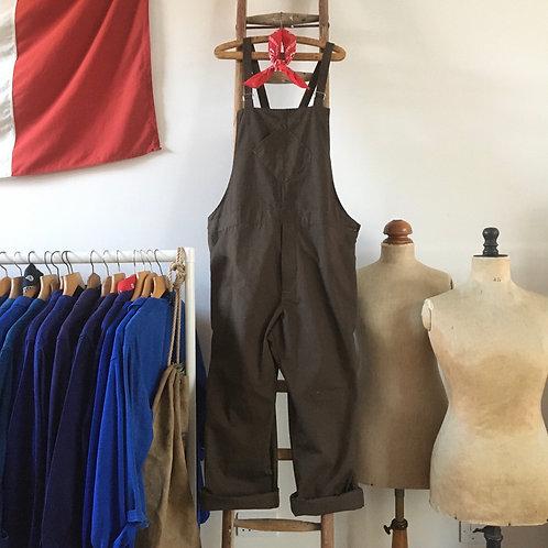 Vintage British HM Prison Service Workwear Dungarees XL