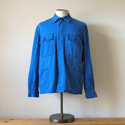 Vintage Bugatti Blue Workwear Jacket L