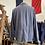 Thumbnail: Vintage Vietnamese Lightweight Slub Cotton Workwear Jacket XL/XXL