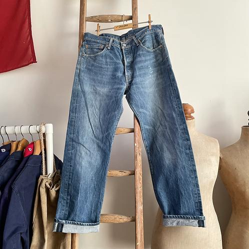 """Vintage Levis 501 Denim Jeans W34"""" L36"""""""