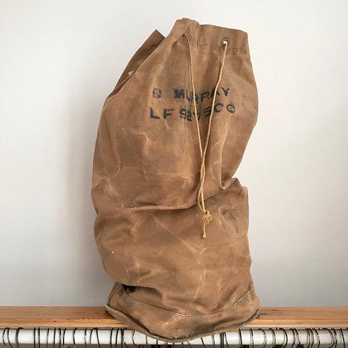 True Vintage WW2 Desert Field British D Murray Kit Bag Large
