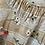 "Thumbnail: True Vintage 1940s/50s Floral Print Belted Dress UK8 10 W28"""