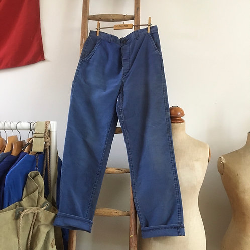 """True Vintage French Moleskin Workwear Trousers W31"""""""