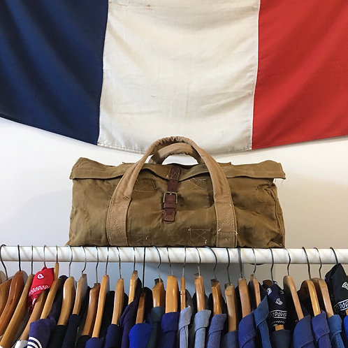 True Vintage Military Duck Canvas Kit Bag Hold-all