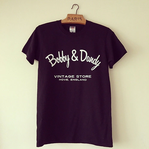 Bobby & Dandy Vintage Store Cotton Tee M