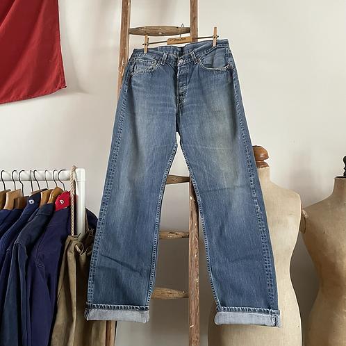 """Vintage Levis 501 Denim Jeans W33"""" L34"""""""