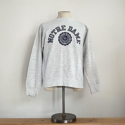 True Vintage USA Notre Dame Sweatshirt M