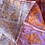 "Thumbnail: True Vintage 1950s Painterly Print Cotton Dress UK10 W29"""