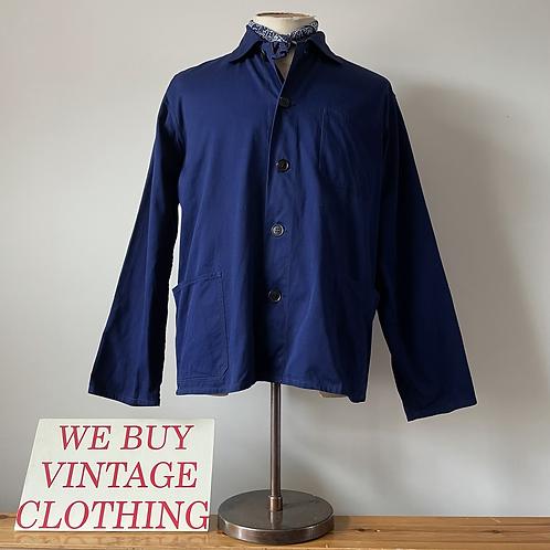Vintage Chinese 'Friendship' Cotton Workwear Chore Jacket M