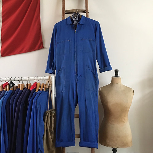 True Vintage French Workwear Coveralls S M