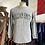 Thumbnail: True Vintage USA 1990s William Smith New York College Grey Marl Shirt S M