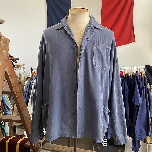 Vintage Vietnamese Lightweight Slub Cotton Workwear Jacket XL/XXL