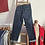 """Thumbnail: Vintage 1950s Style Freddies of Pinewood Peddle Pushers Jeans W27"""" 28"""""""