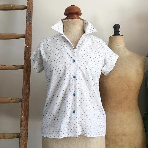 True Vintage Floral Shirt UK10 12