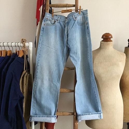 """True Vintage 1980s Levis 501 Denim Jeans W36"""" L30"""""""