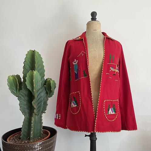 True Vintage 1950s Lopez Tourist Jacket S M