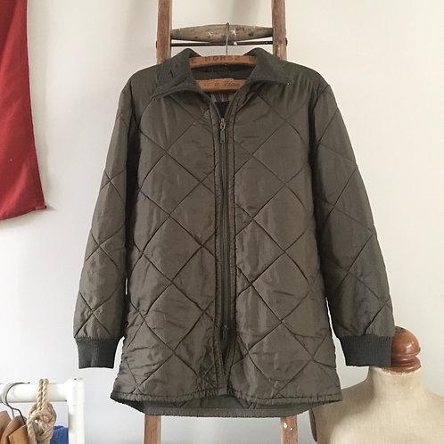 Vintage German Military Liner Jacket L