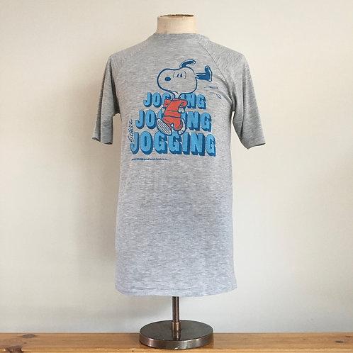 True Vintage 1970s/80s USA Snoopy Schulz Tee- Shirt S M