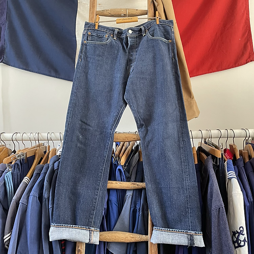 """True Vintage Levis 501 Denim Jeans W34""""/ 35"""" L30"""""""