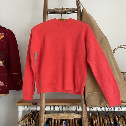True Vintage 1960s Deadstock Lambswool Angora Knit Sweater UK8 10 12