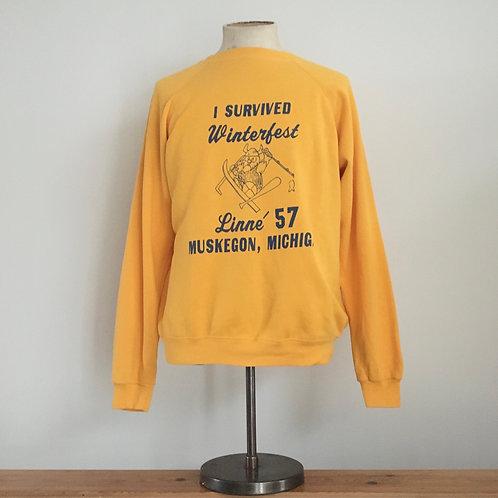 True Vintage USA Michigan Sweatshirt L
