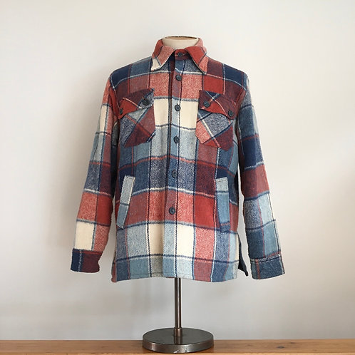 True Vintage USA 1970s Caribou Check Jacket S M