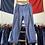 """Thumbnail: True Vintage 1950s French Faded Moleskin Workwear Trousers W34"""""""