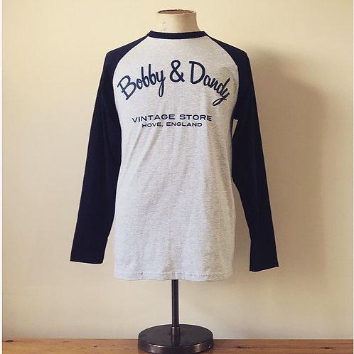 Bobby & Dandy Vintage Store Cotton Baseball Tee S