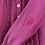 Thumbnail: True Vintage 1950s/60s Hand Knit Wool Cardigan S