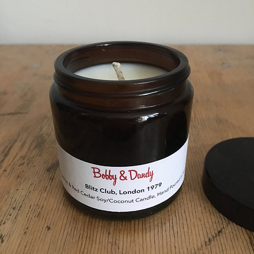 Bobby & Dandy 'Blitz Club' Hand Crafted Soy & Coconut Wax Candle