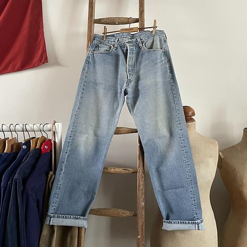 """Vintage Levis 501 Denim Jeans W34"""" L32"""""""