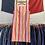 Thumbnail: True Vintage 1960s Candy Stripe Dress UK10 12