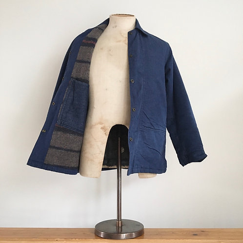 True Vintage USA Blanket Lined Denim Jacket S