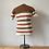Thumbnail: True Vintage 1960s Striped Polo Top S